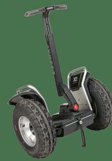 Segway PT original, modelo de vehículo eléctrico que se emplea en tours turísticos e incluso por algunos cuerpos policiales