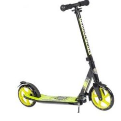 STAR-SCOOTER® City Scooter 205mm XXL: patinete de ruedas grandes y base extra ancha