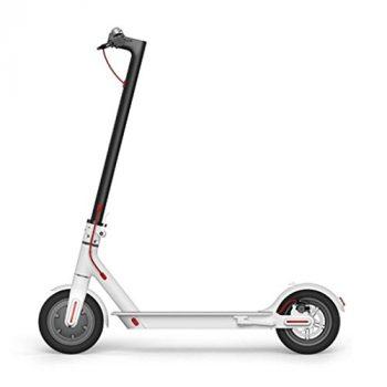 Xiaomi Mi Scooter Eléctrico con Alcance de 30 Km, Blanco [OFERTAS]