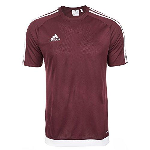 7e51092f7 adidas Estro 15 JSY - Camiseta para hombre, color marrón/blanco, talla XL