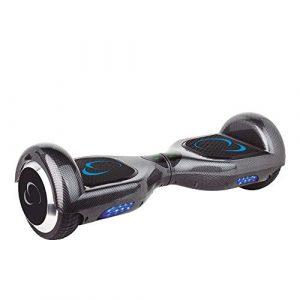 SmartGyro X2 Carbono Patinete Eléctrico con Certificado UL2272, Ruedas Run-Flat Talla 6.5″, Color Carbono/Gris [OFERTAS]