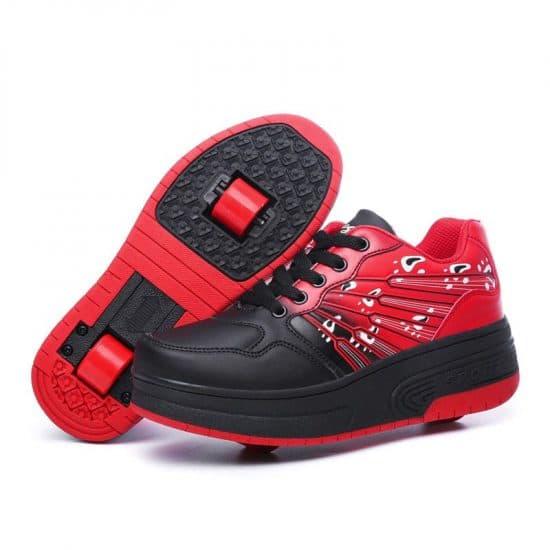 Zapatillas con ruedas para patinaje infantiles
