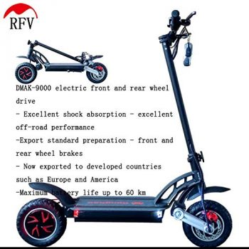 Scooter electrico todoterreno RFV de doble traccion