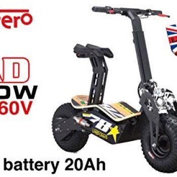 Scooter eléctrico Velocifero Mad 2000W, 60V