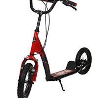 Empire 0016828 Patinete Bicicleta, Niñas, Rojo, 12″ [OFERTAS]
